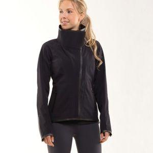 Lululemon Harmony Softshell Jacket Black Size 6